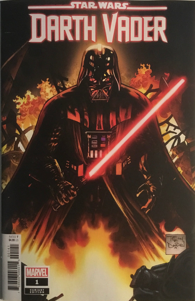 STAR WARS DARTH VADER (2020) # 1 DANIEL 1:50 VARIANT COVER