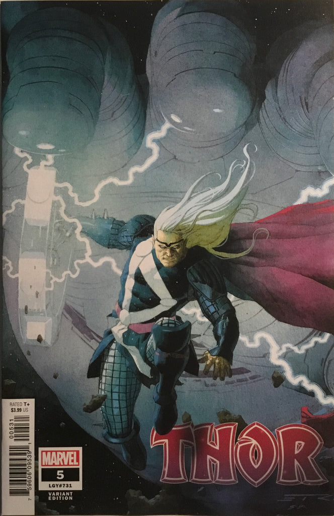 THOR (2020) # 5 RIBIC 1:25 VARIANT COVER FIRST FULL APPEARANCE OF THE BLACK WINTER