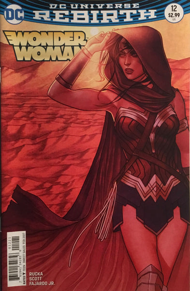 WONDER WOMAN (REBIRTH) #12 FRISON VARIANT COVER