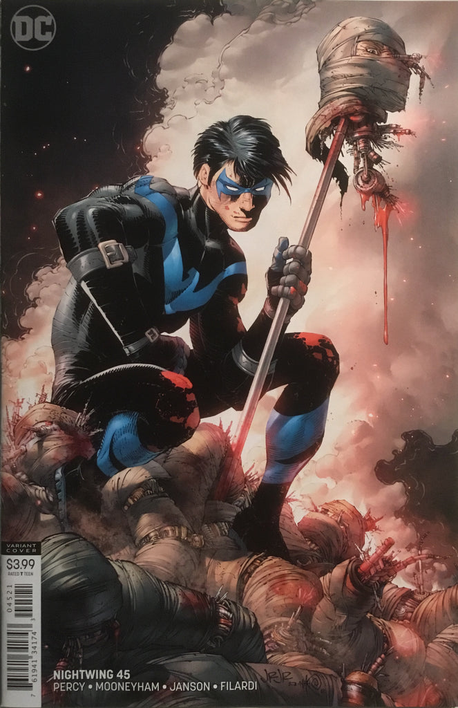 NIGHTWING (REBIRTH) # 45 VARIANT COVER