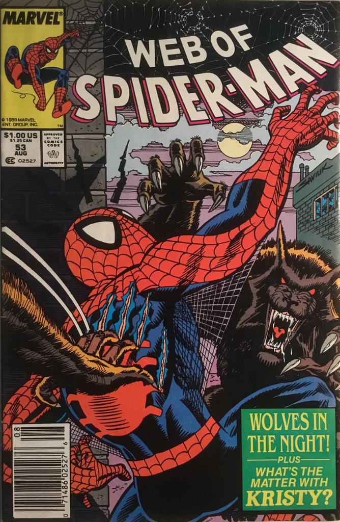 WEB OF SPIDER-MAN # 53