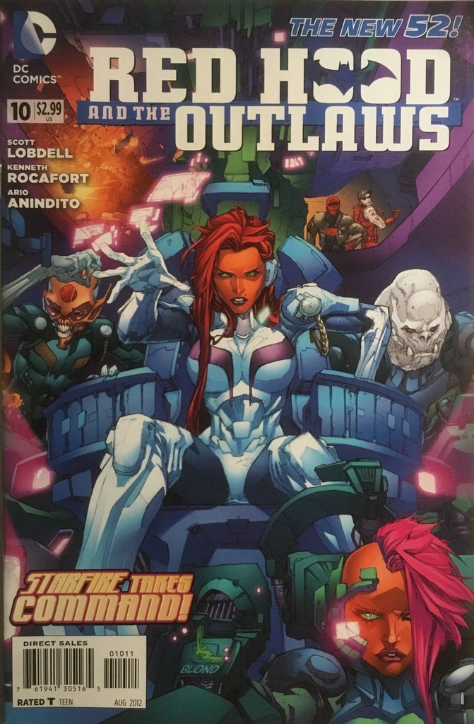 RED HOOD AND THE OUTLAWS (THE NEW 52) # 10