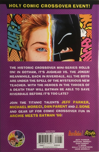 ARCHIE MEETS BATMAN '66 #4 ZDARSKY COVER