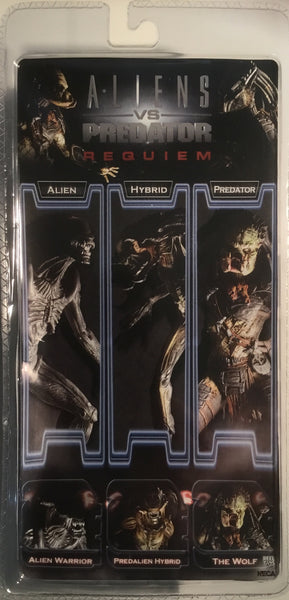 PREDATOR ACTION FIGURE CLOSED MOUTH (ALIENS VS PREDATOR REQUIEM) 2007 NECA
