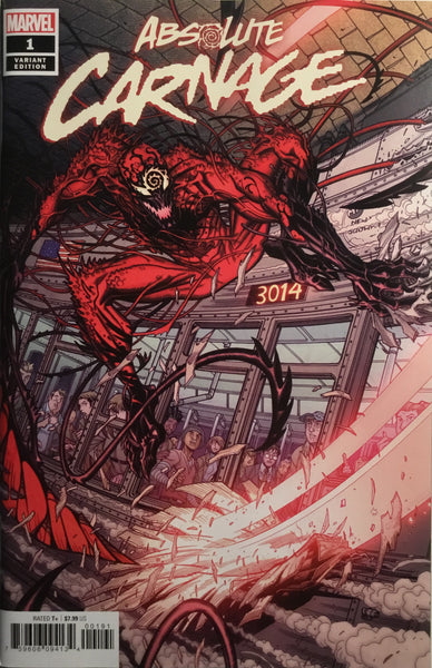 ABSOLUTE CARNAGE # 1 BRADSHAW 1:50 VARIANT COVER