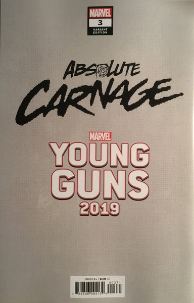 ABSOLUTE CARNAGE # 3 LARRAZ YOUNG GUNS VARIANT COVER