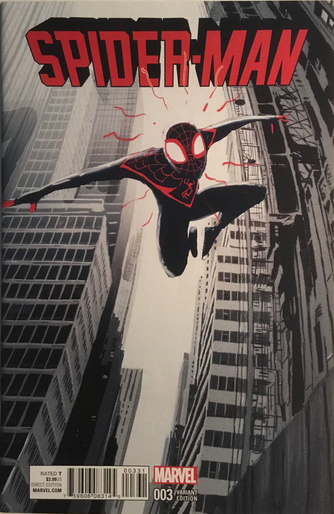 SPIDER-MAN (2016-2017) # 3 CAMPION 1:25 VARIANT COVER
