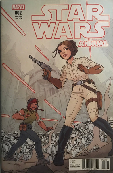 STAR WARS (2015-2020) ANNUAL # 2 VARIANT COVER