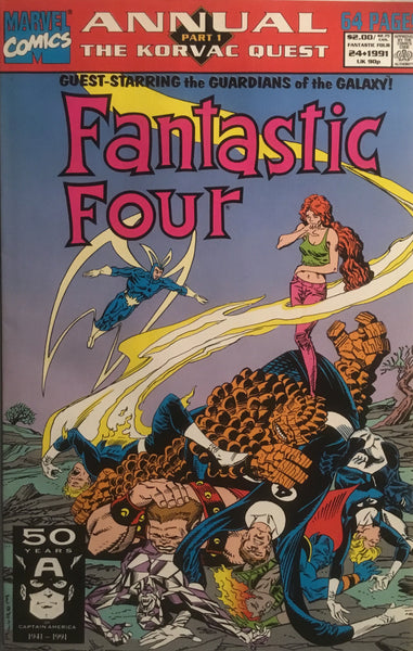 FANTASTIC FOUR (1961-1996) ANNUAL # 24