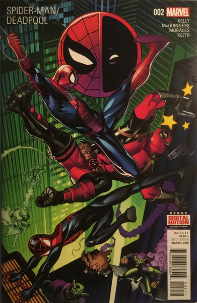 SPIDER-MAN DEADPOOL # 2 FIRST PRINTING