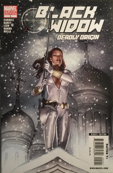 BLACK WIDOW DEADLY ORIGIN # 2 GRANOV 1:10 VARIANT COVER