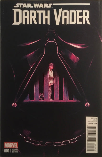 STAR WARS DARTH VADER (2015-2016) # 1 DEL MUNDO 1:25 VARIANT COVER