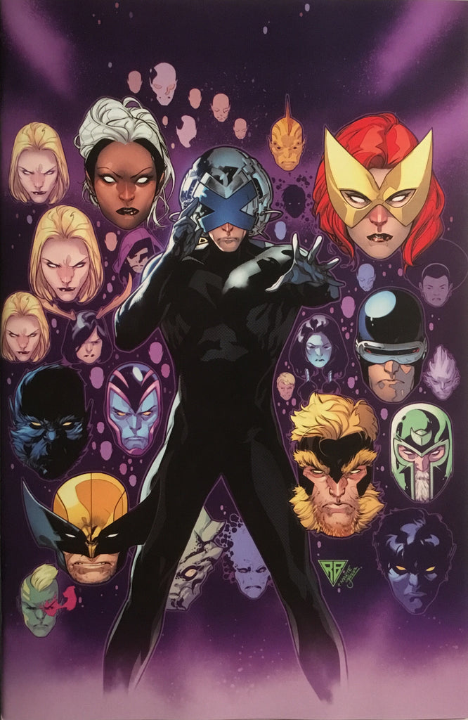 POWERS OF X # 4 SILVA 1:100 VIRGIN COVER