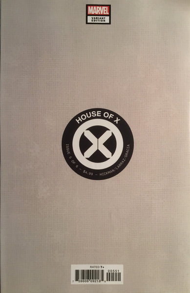 HOUSE OF X # 5 LARRAZ 1:100 VIRGIN COVER