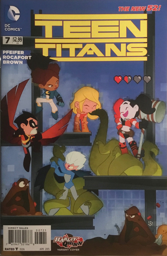 TEEN TITANS (NEW 52 SERIES 2) # 7 HARLEY QUINN VARIANT COVER