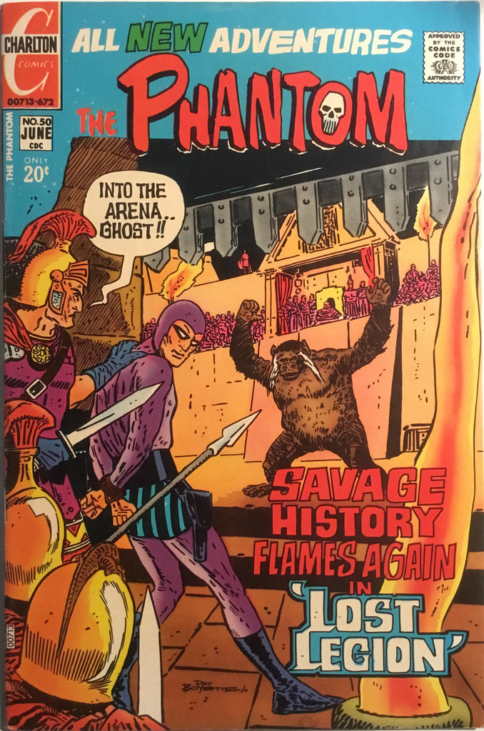 THE PHANTOM (CHARLTON) # 50