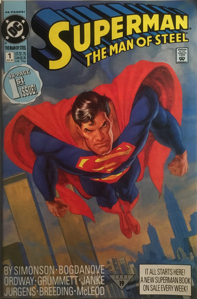 SUPERMAN THE MAN OF STEEL # 01