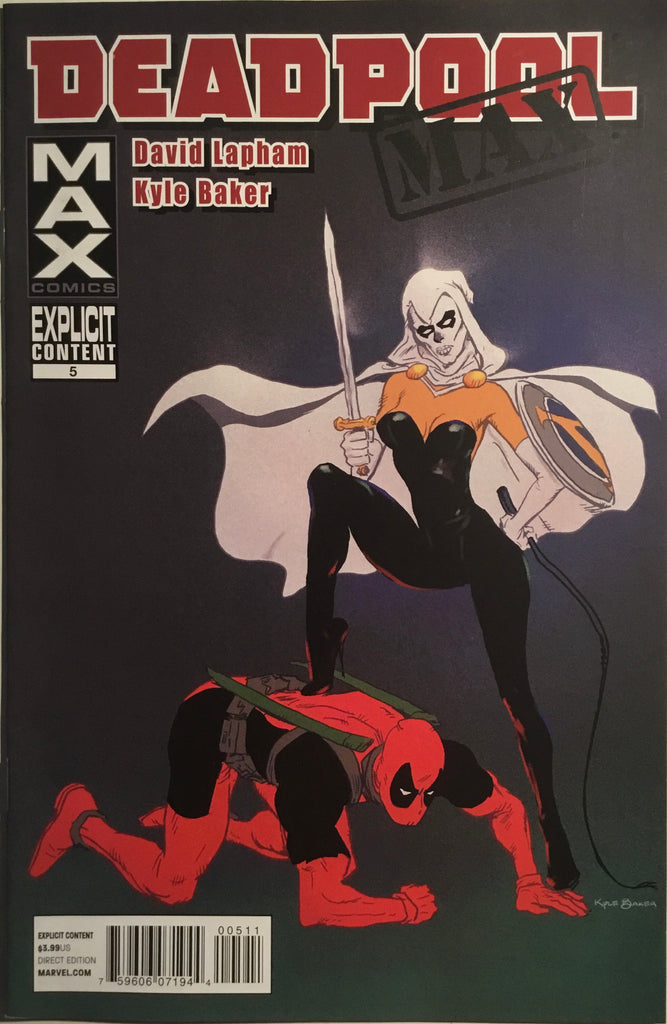 DEADPOOL MAX # 5 FIRST APPEARANCE OF FEMALE TASKMASTER