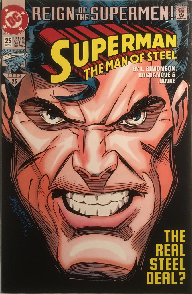 SUPERMAN THE MAN OF STEEL # 25