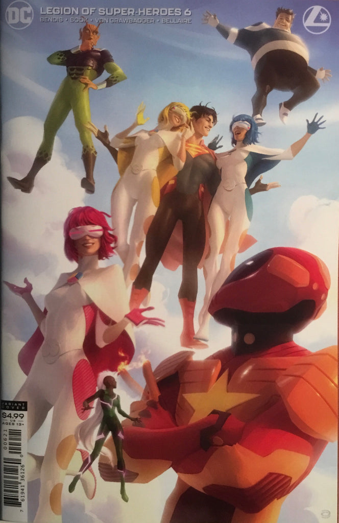 LEGION OF SUPER-HEROES (2019) # 6 VARIANT COVER FIRST FULL APPEARANCE OF GOLD LANTERN