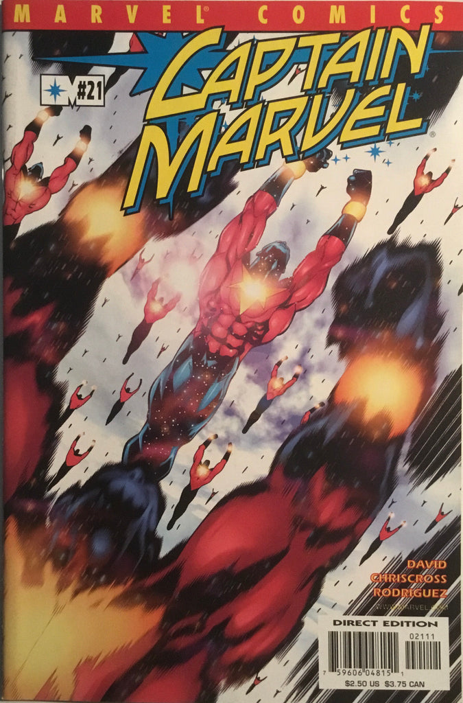 CAPTAIN MARVEL (2000-2002) # 21 FIRST FULL APPEARANCE OF BIG MOTHER