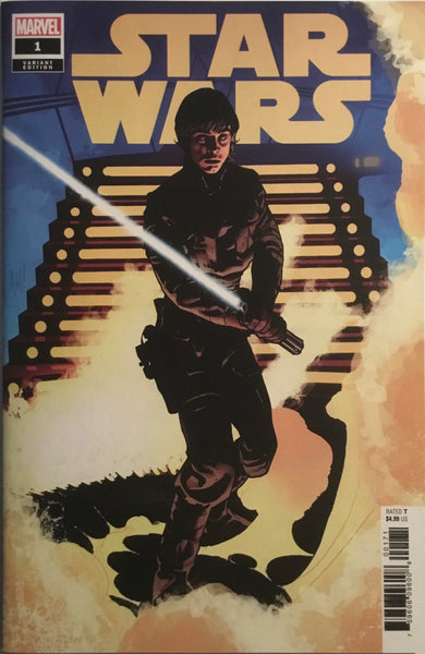 STAR WARS (2020) # 1 HUGHES 1:50 VARIANT COVER