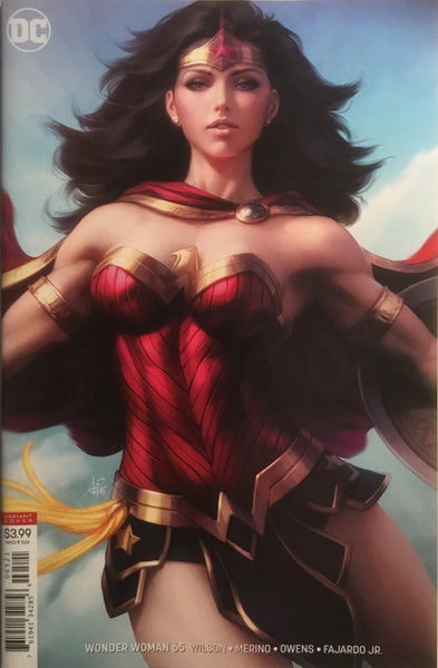 WONDER WOMAN (REBIRTH) # 65 ARTGERM VARIANT COVER