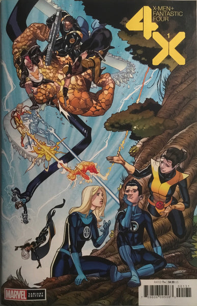 X-MEN / FANTASTIC FOUR # 1 GARRON 1:50 VARIANT COVER