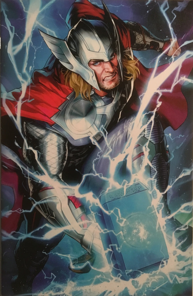 THOR (2018-) # 6 BATTLE LINES VARIANT COVER