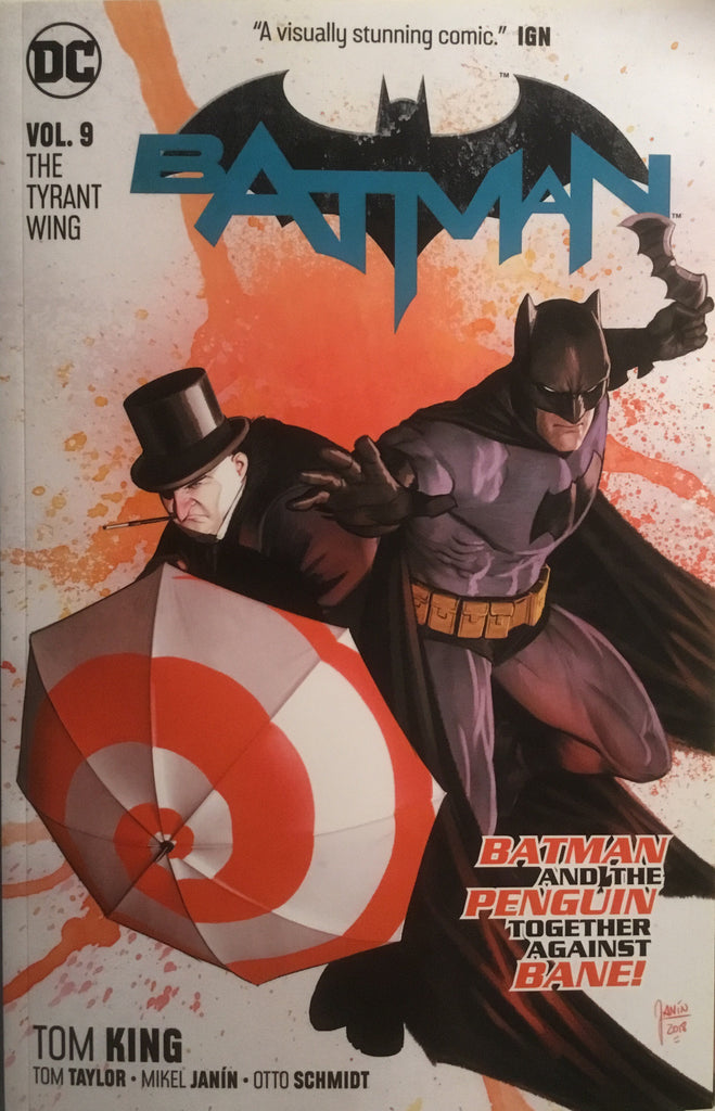 BATMAN (REBIRTH) VOL 09 THE TYRANT WING GRAPHIC NOVEL