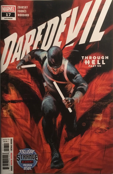 DAREDEVIL (2019) #15 PREVIEW OF STRANGE ACADEMY
