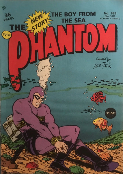 THE PHANTOM # 985
