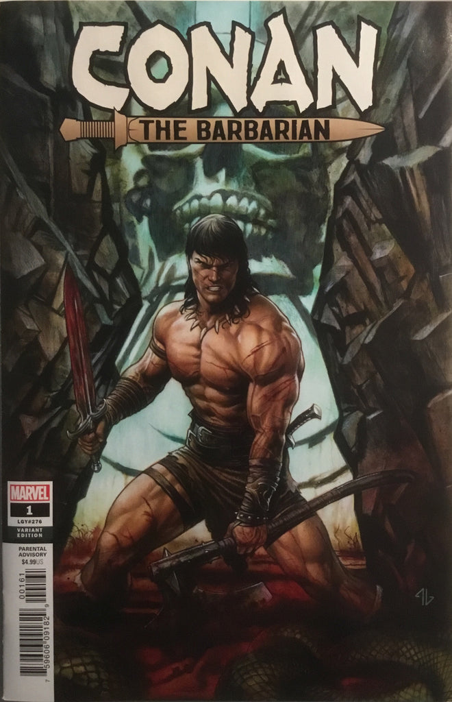 CONAN THE BARBARIAN (2019) # 1 GRANOV 1:50 VARIANT COVER