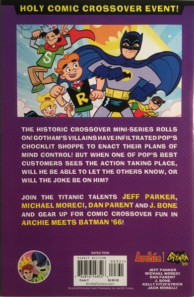 ARCHIE MEETS BATMAN '66 #3 CHAYKIN COVER