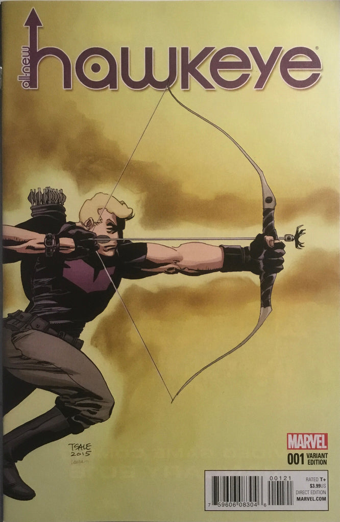 ALL-NEW HAWKEYE # 1 SALE 1:25 VARIANT COVER