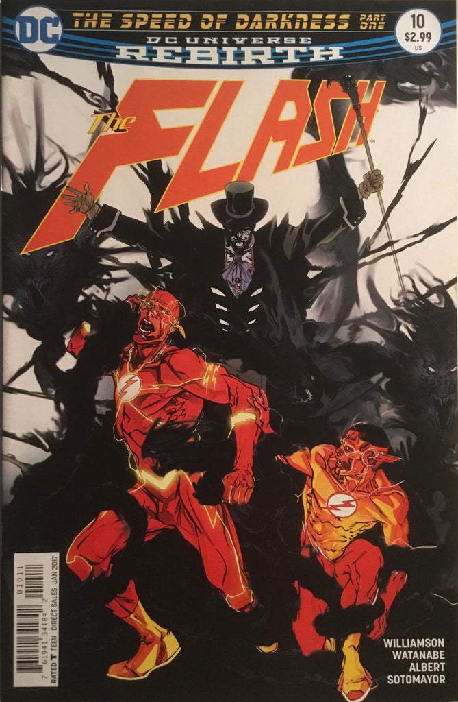 FLASH (REBIRTH) # 10