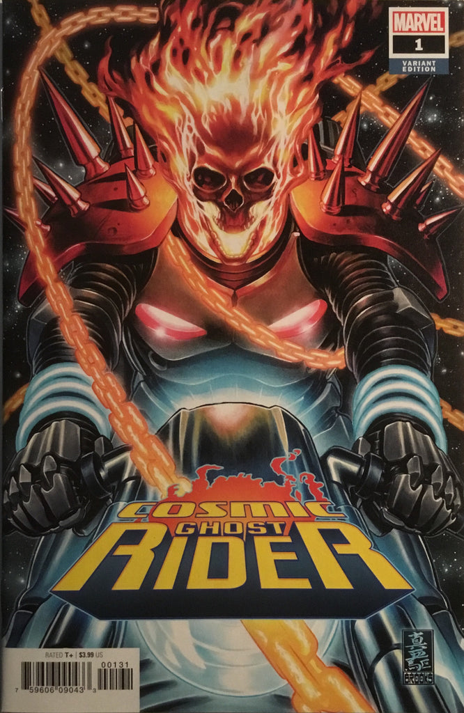 COSMIC GHOST RIDER # 1 BROOKS 1:50 VARIANT COVER