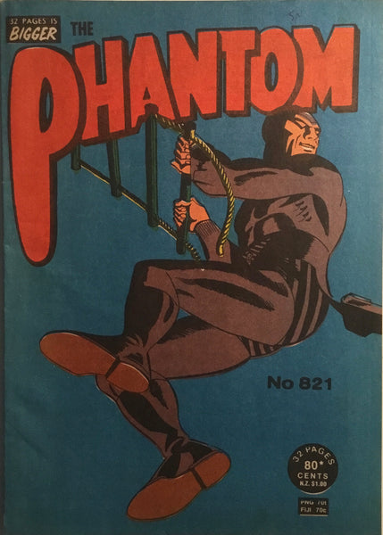 THE PHANTOM # 821