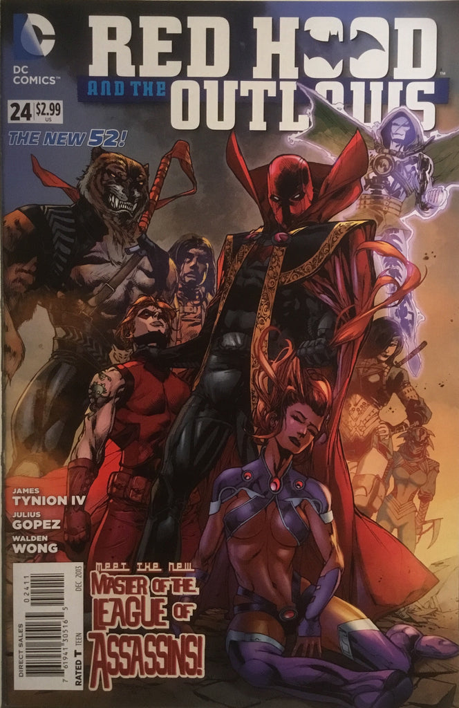 RED HOOD AND THE OUTLAWS (THE NEW 52) # 24