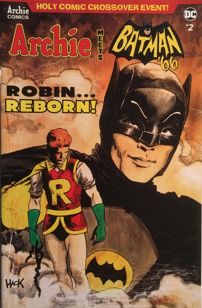 ARCHIE MEETS BATMAN '66 #2 HACK COVER