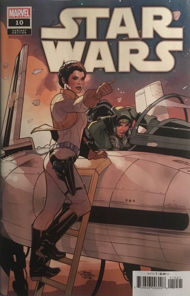 STAR WARS (2020) #10 DODSON 1:25 VARIANT COVER FIRST APPEARANCE OF THE STARLIGHT SQUADRON