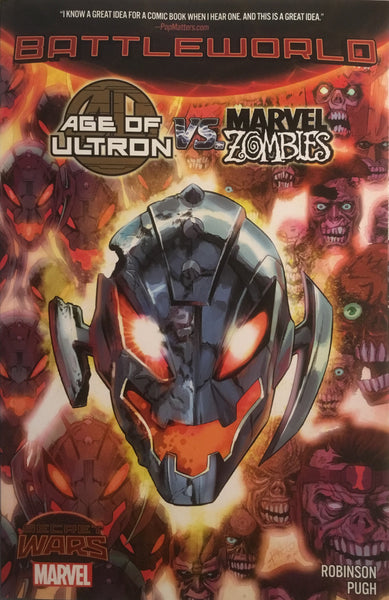 AGE OF ULTRON VS MARVEL ZOMBIES (SECRET WARS BATTLEWORLD) GRAPHIC NOVEL