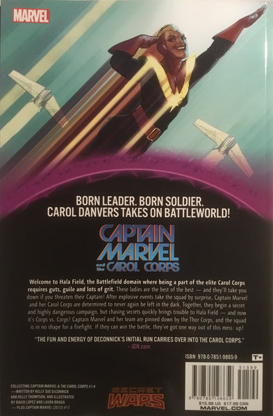 CAPTAIN MARVEL AND THE CAROL CORPS (SECRET WARS WARZONES) GRAPHIC NOVEL