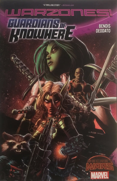 GUARDIANS OF KNOWHERE (SECRET WARS WARZONES) GRAPHIC NOVEL