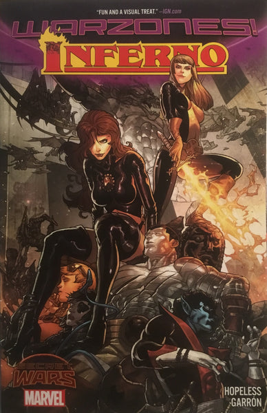 INFERNO (SECRET WARS WARZONES) GRAPHIC NOVEL