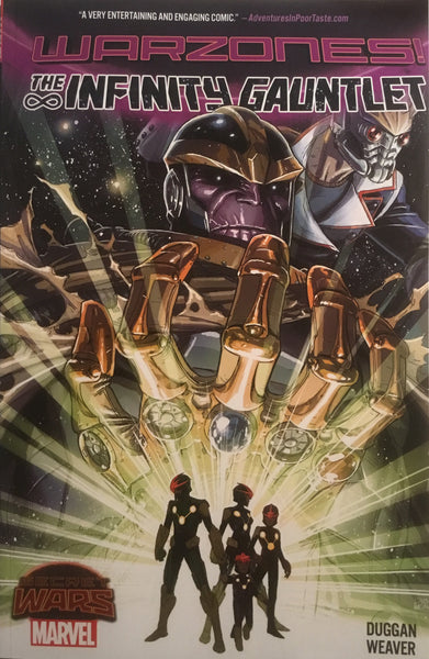 INFINITY GAUNTLET (SECRET WARS WARZONES) GRAPHIC NOVEL