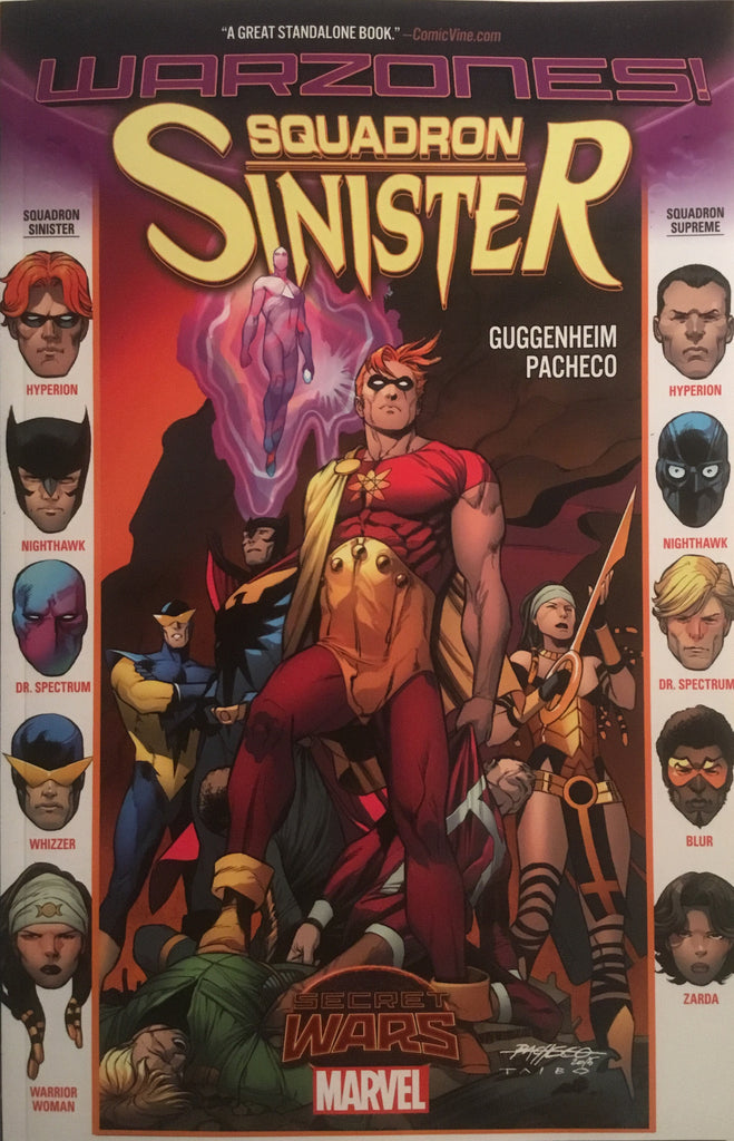 SQUADRON SINISTER (SECRET WARS WARZONES) GRAPHIC NOVEL