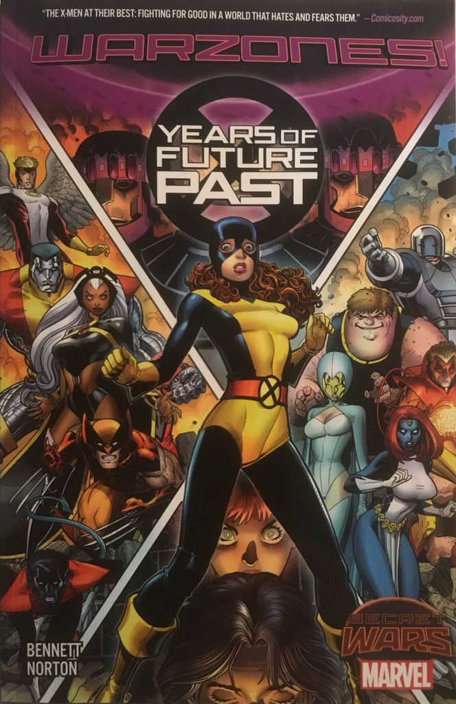 X-MEN YEARS OF FUTURE PAST (SECRET WARS WARZONES) GRAPHIC NOVEL