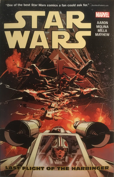 STAR WARS (MARVEL) VOL 04 LAST FLIGHT OF THE HARBINGER GRAPHIC NOVEL
