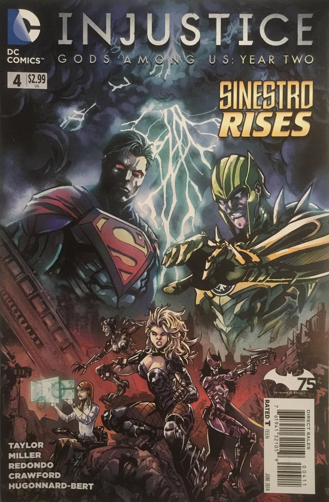 INJUSTICE GODS AMONG US YEAR TWO # 4